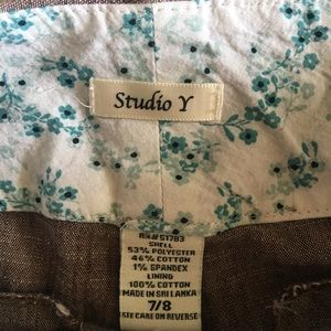 Studio Y Pants - Dress capris